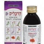 ynet בריאות - הרבליס D: סירופ טבעי לטיפול בשיעול